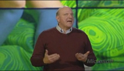 Ballmer's keynote at CES…question, why is he screaming?